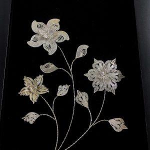 گل نقره نقره بی ریایی