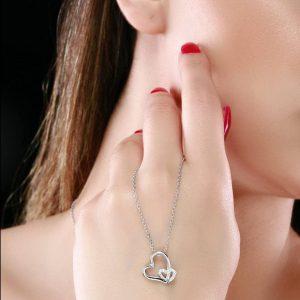 گردنبند قلب-MHPN10145بی ریایی